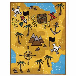 Playtime Treasure Map